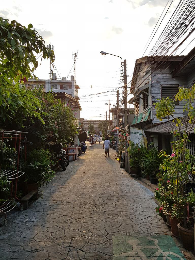 Hotelviertel in Bangkok