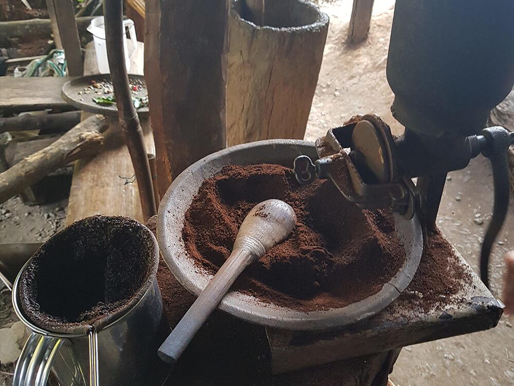 Kaffeekultur in Nordthailand