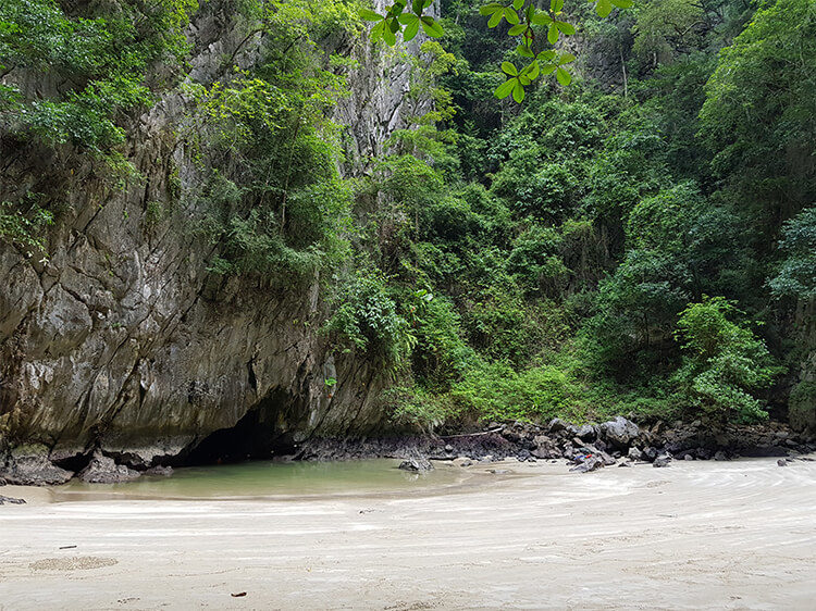 Emerald Cave auf Koh Mook